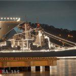 横須賀へ海上自衛隊の電灯艦飾を見に行ってきましたレポ(自衛隊観艦式FLEET WEEK)